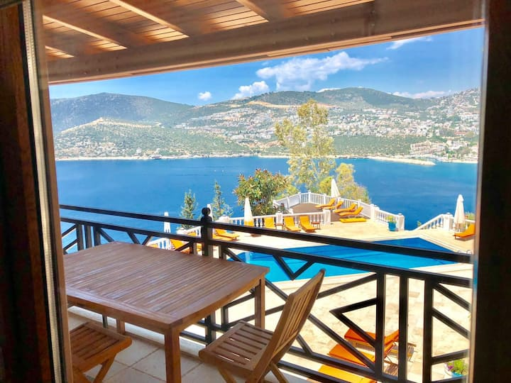 Stunning view at Eagles Nest in KALKAN