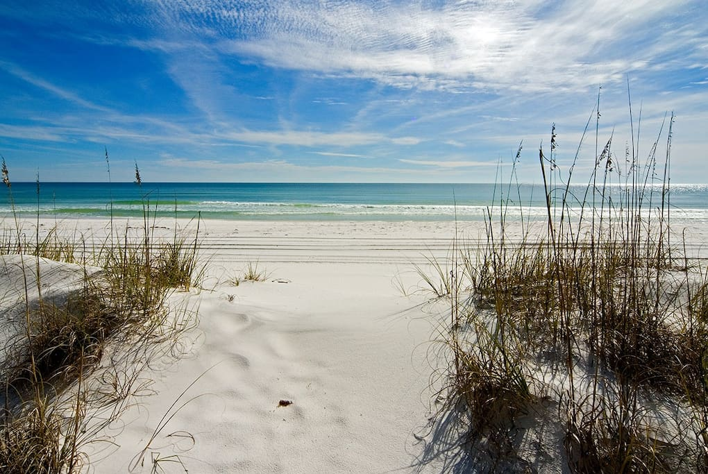 Seagrove Beach - only 150yds away.
