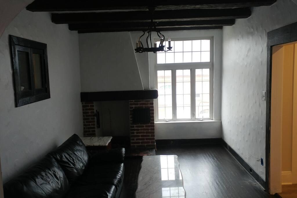Shared lounge area