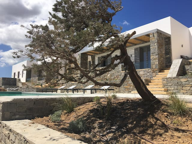 Amazing villa in Paros(villa Mare)