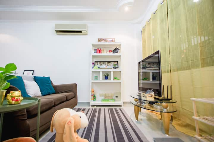 Will Leisure Home 3BR AirCon  @ Georgetown, Penang