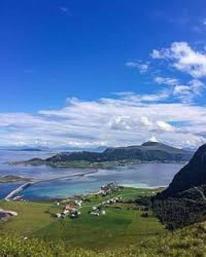 Hus på en øy utenfor Ålesund. En perle!