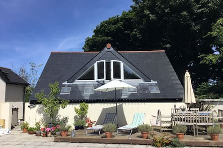 Pool Lodge, rural annexe in North Cornwall.