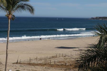 *Mykonos Beachfront End Unit*  On Costa Azul Beach