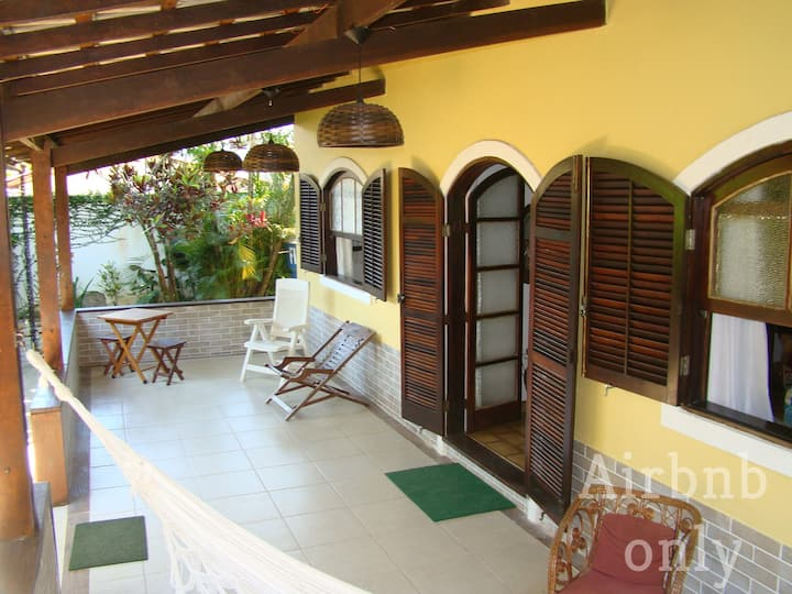 Ilha Grande, 3 bedrooms, 50m from the beach