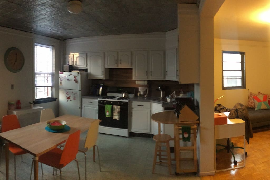 Kitchen/Dining/Living