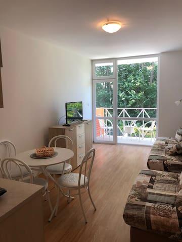 Your private new studio apartment in Sunny Beach!