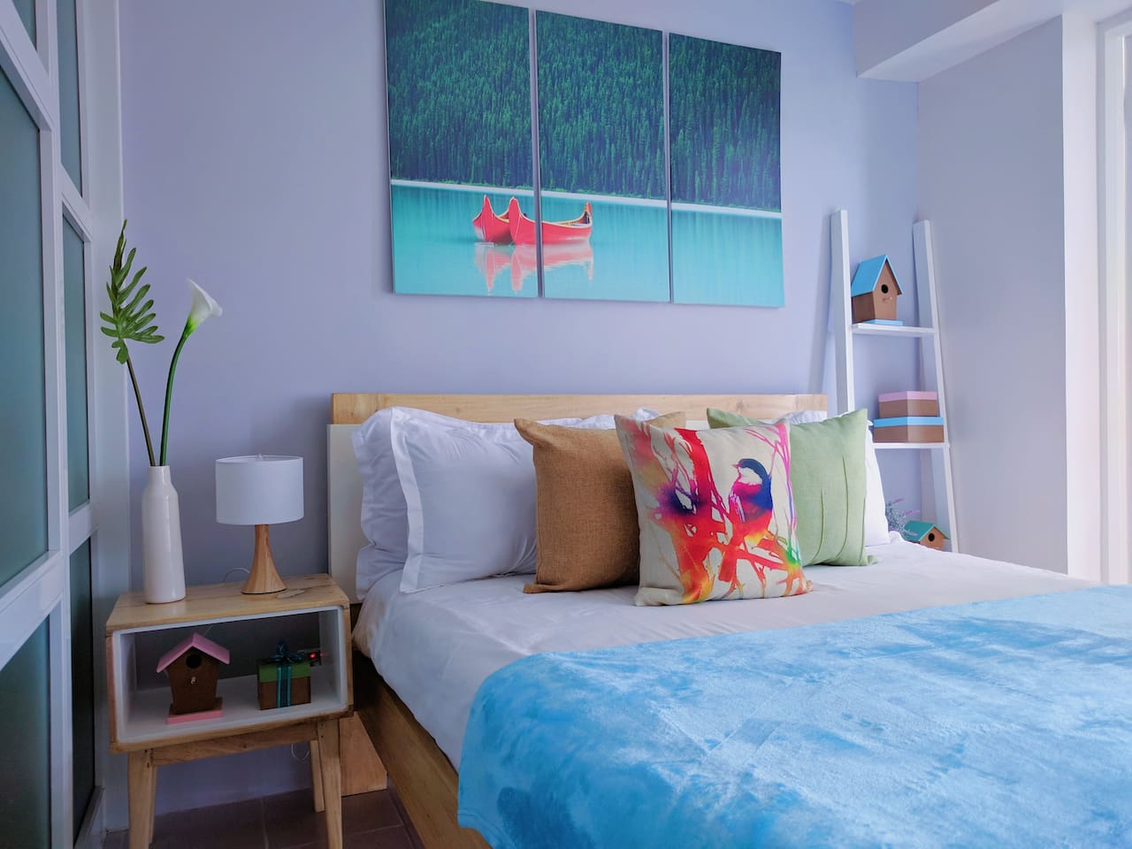 Canopy Tagaytay Bedroom Set-up & Interior