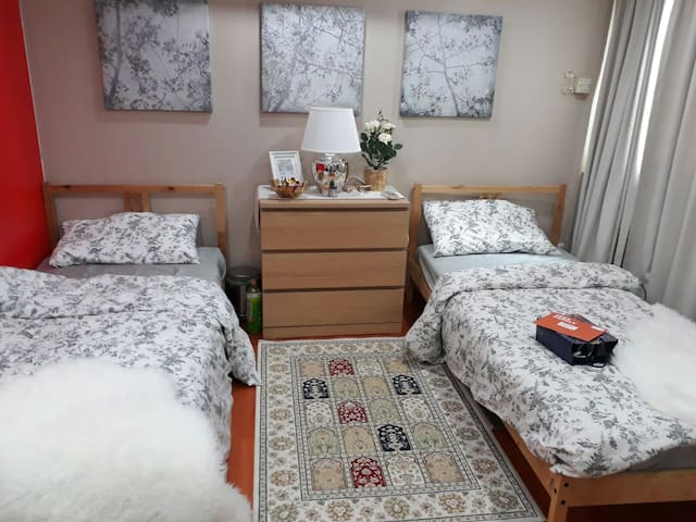 Minimum half a year rental North of Singapore