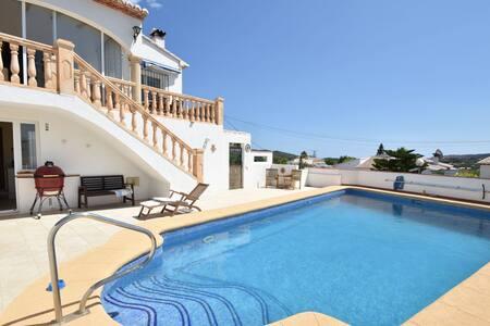 Majestic Villa with Private Pool in Moraira