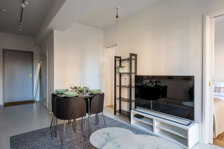 Newly renovated apartment in great location