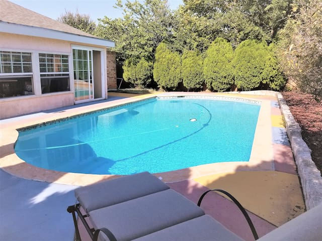 POOL, PATIO, & PRIVACY! TRANQUIL & LUXURIOUS HOME