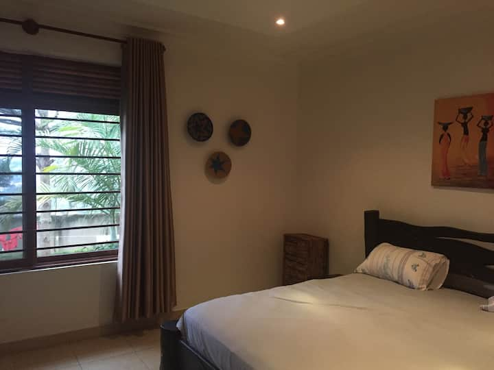 Bedroom in Beautiful Residential Home with Garden