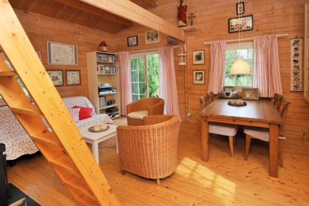 Interior or the cabin.