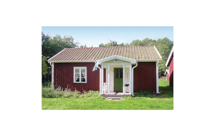 Beautiful home in Vimmerby with WiFi and 1 Bedrooms