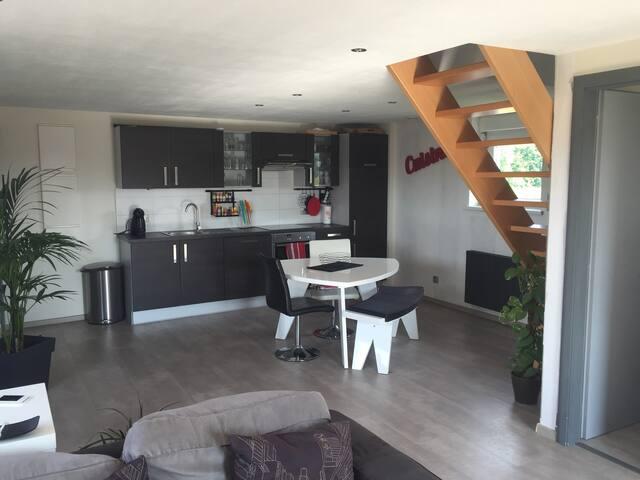 Bel appartement, proche Europapark - Illhaeusern - Appartement