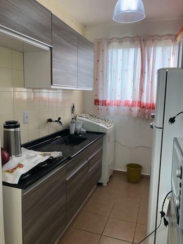 Rincão,apartamento Studio centro uma quadra do mar