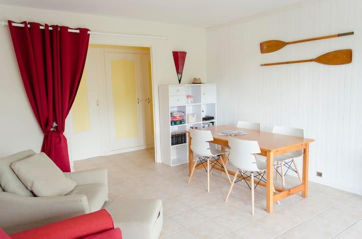 Appartement centre Quimiac, plage Lanseria à 200m