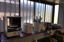 Full kitchen equipment