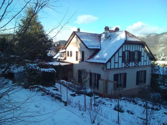Magnifique maison alsacienne - Thann