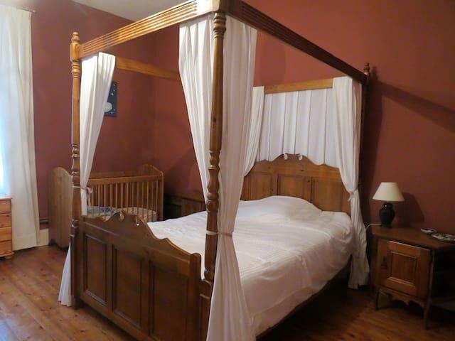 Les Loubejac chambre Coeur - Sauveterre-la-Lémance