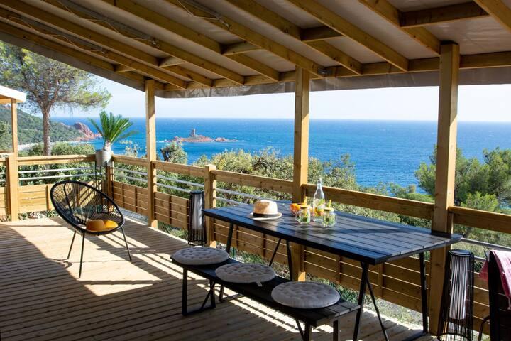 Zen Mobile Home, NEUF avec Vue mer Panoramic