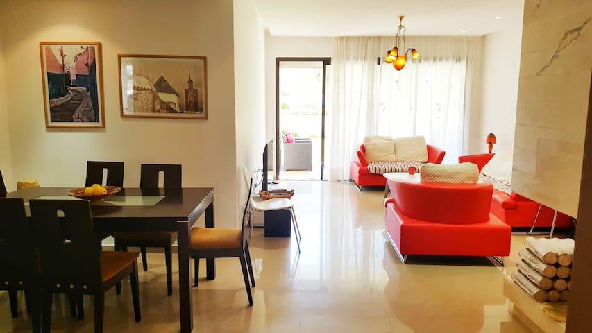 Bel appartement en bord de mer. - Rabat-Sale-Zemmour-Zaer - Apartment