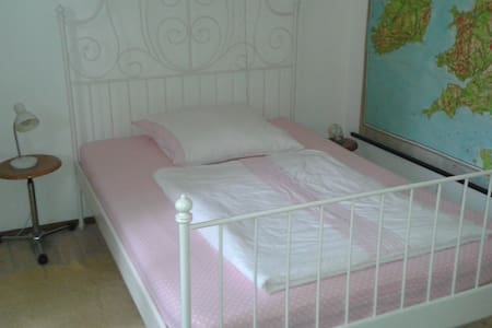cosy bedroom with own bathroom - Aschaffenburg