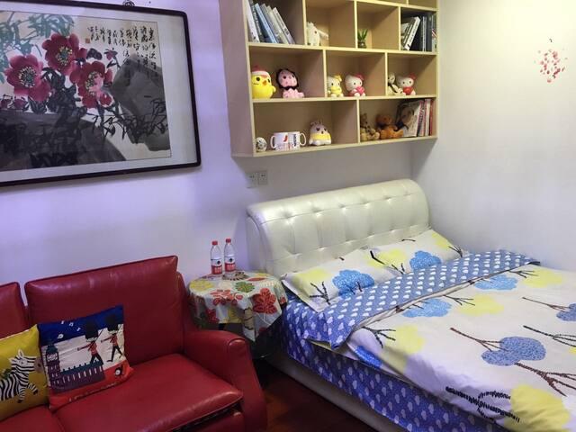 《乐宿》奥山世纪广场温馨公寓 - 武汉 - Квартира
