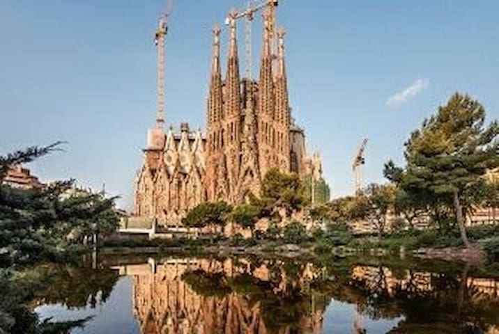 Sagrada familia - 20 min by subway