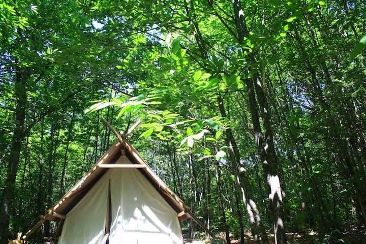 Location Tente Prospecteur en Périgord Vert