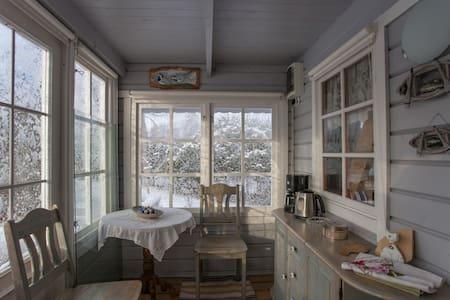 Beautiful small house with the cozy loft - Nasva - Haus