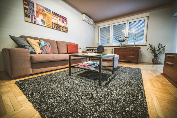 Apartment Moj Osijek **** city heart,great place - Osijek - Apartemen