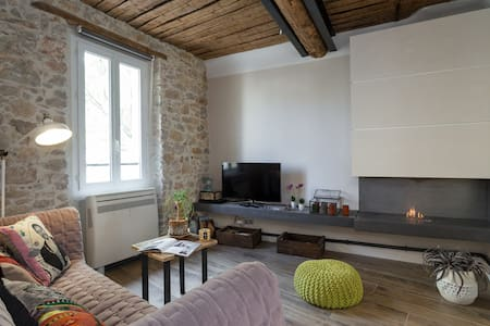 Amazing loft 2 bedrooms 2 bath Old Town & beaches - Antibes - Apartment