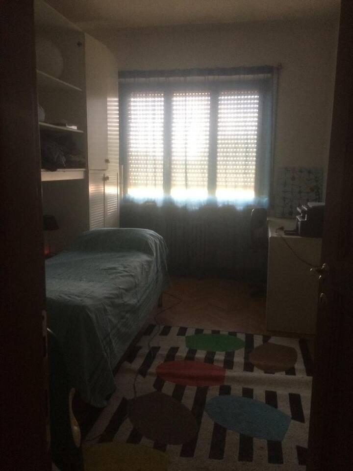 camera doppia con lettini 2+2