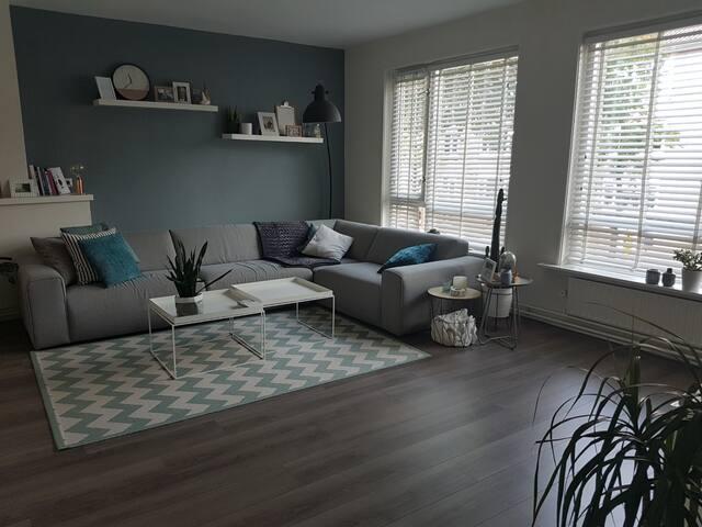 Big and bright apartment in Breda near centre