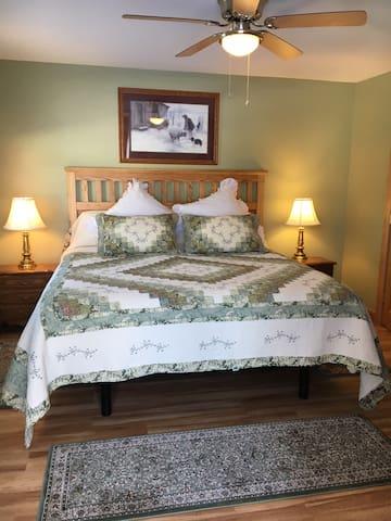 Adjustable base King bed