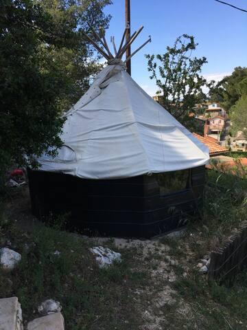 Eco-cabane des Trois Ponts