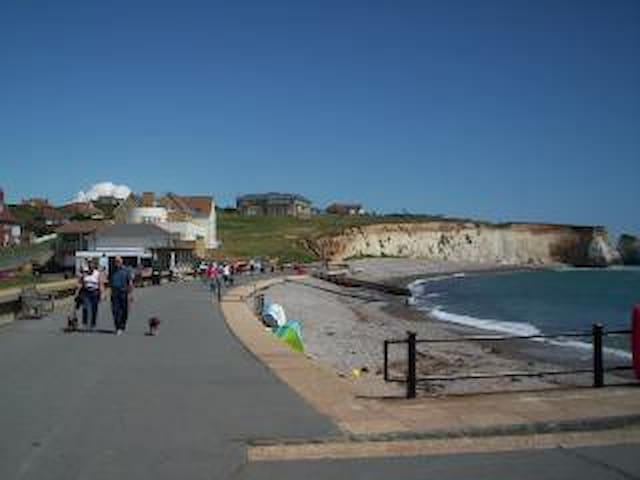 Freshwater Bay Promenade, a few hundred yards from the apartment.