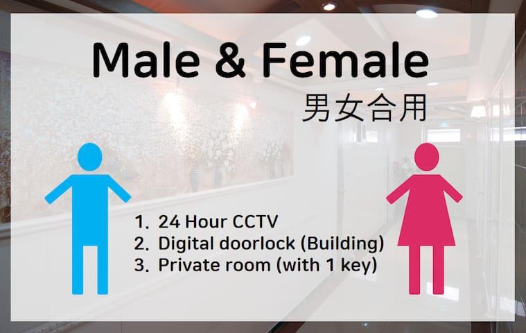 Sinsa stn Private room(423) and private bathroom
