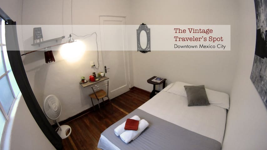 The Vintage Traveler's Spot @ Downtown Mexico City