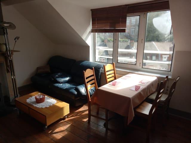 Chambre privé cosi idéalement situé à Auderghem - Auderghem - Wohnung
