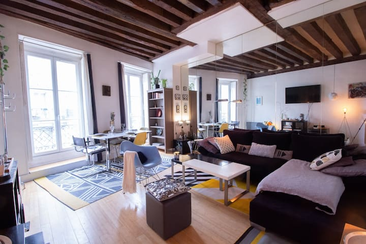 CHARMING APARTMENT CLOSE TO NOTRE DAME DE PARIS