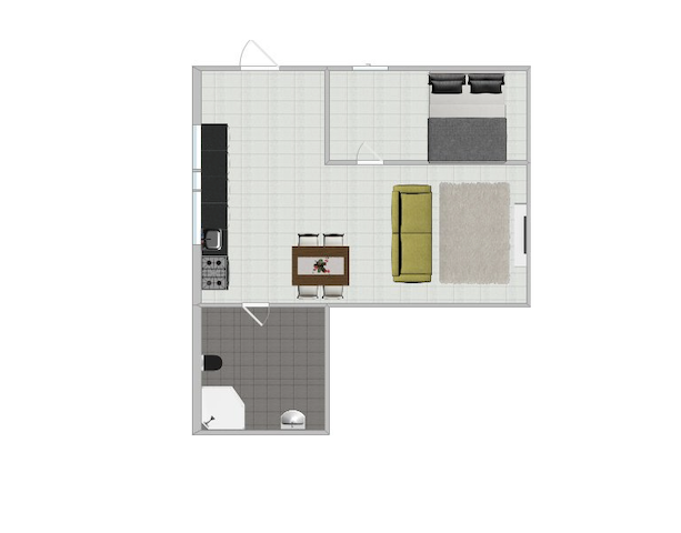 The Clean 1 bedroom apartment