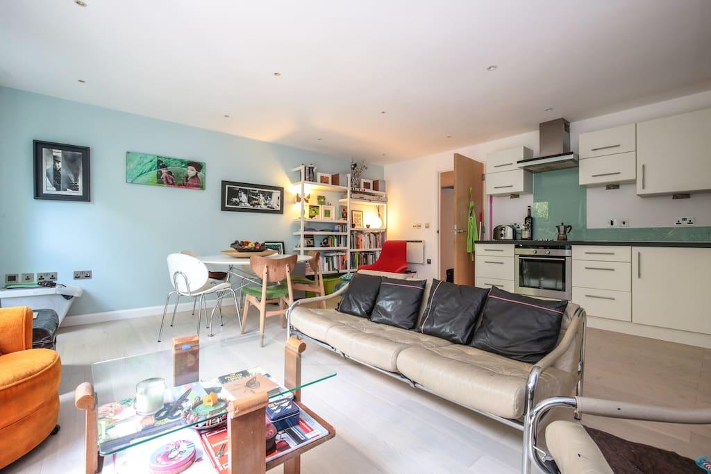 Habitation doble en apartamento moderno apartamentos en - Apartamento en londres ...