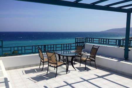 AgiaFotiaBeach Maisonette Apartment - Chios - 公寓