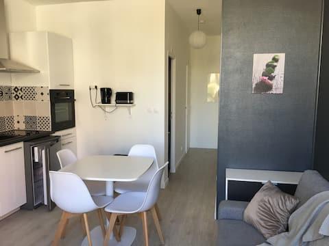 Chez Justine : T2 29 m² , hypercentre