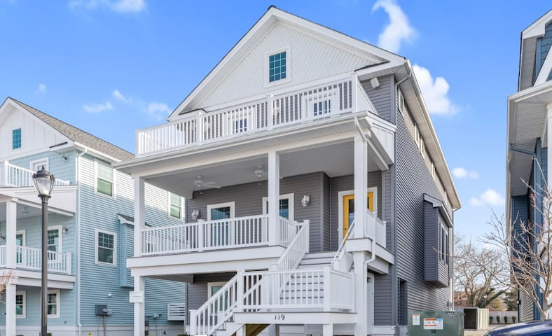 Brand New Construction Cape May Marina District
