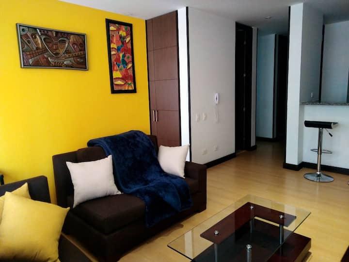 Hermoso apartamento Centro Internacional, Bogotá.