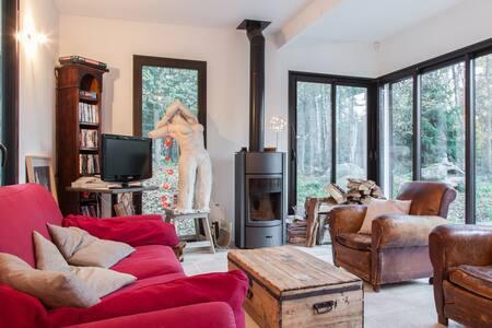 Maison, forêt de Fontainebleau. - Noisy-sur-École - Talo
